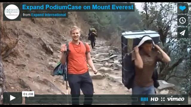 Expand PodiumCase Climbs MountEverest