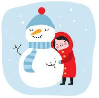 girl_snowman